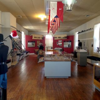 Fort Stockton exhibit back