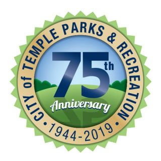 Logo - Temple Parks 75 Years