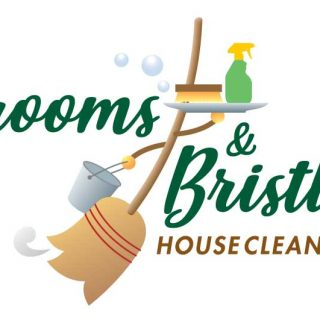 Brooms & Bristles House Cleaning logo
