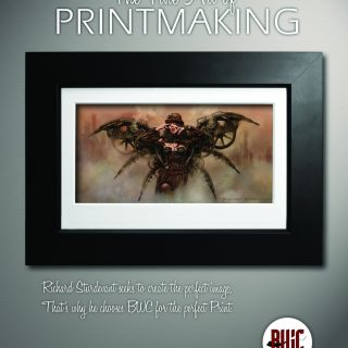 BWC Printmakers -  Magazine ad