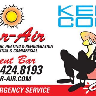 Bar-Air business card