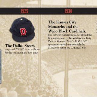 Baseball timeline