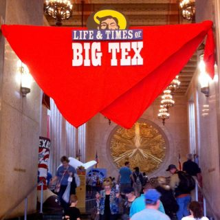 Big Tex entrance graphics