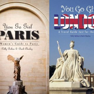 Book - You Go Girl - Travel book covers and custom maps.