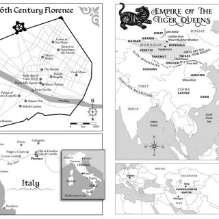 Maps for historical novels.