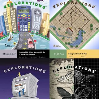 Texas Instruments book covers