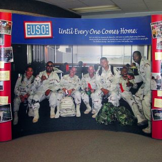 Booth - USO