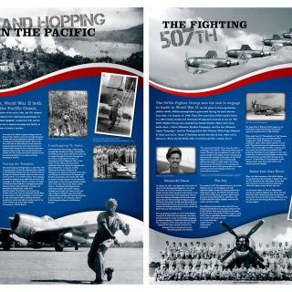 50th Squadron panels