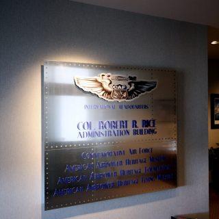 CAF signage