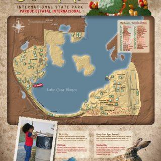 Lake Casa Blanca State Park - Map