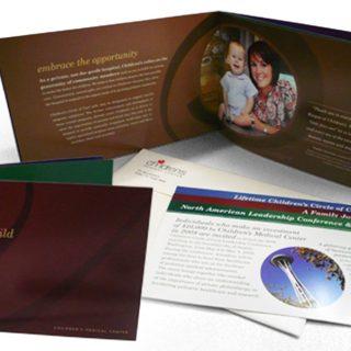 Childrens Medical Center - Fundraising brochure