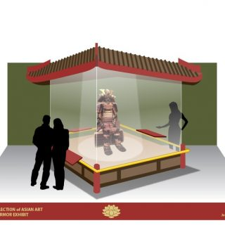 Samurai exhibit plan