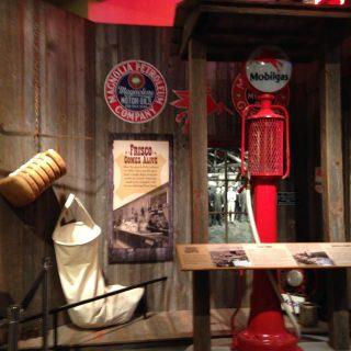 Town life exhibit