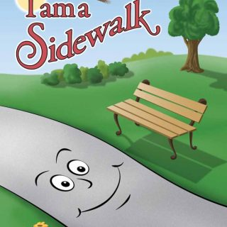 Childrens book cover for I Am a Sidewalk