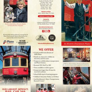 Brochure - Interurban Railway Museum