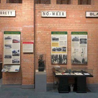 New Interurban Exhibit
