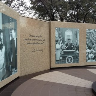 JFK Tribute photo panels