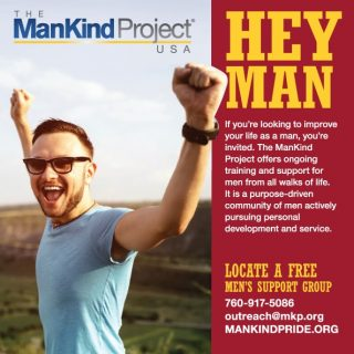 The Mankind Project - Online ad