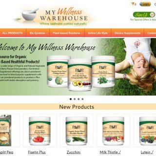 Website - My Wellness Warehouse