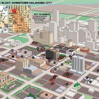 Map - DMN - Oklahoma City Bombing