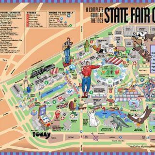 Map - DMN - State Fair of Texas
