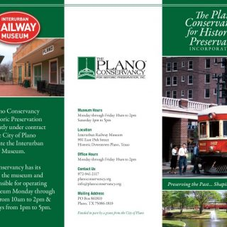 Plano Conservency brochure