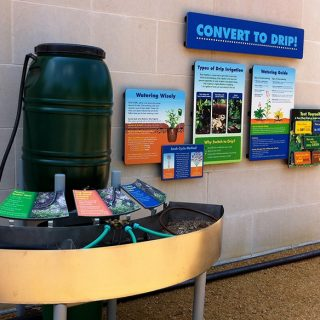 Irrigation Interactive exhibit