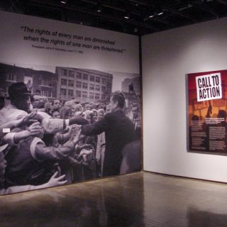Call to Action exhibit