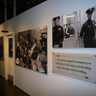 Law Enforcement exhibit