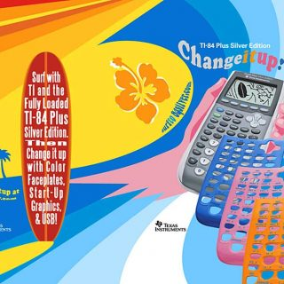 Texas Instruments poster