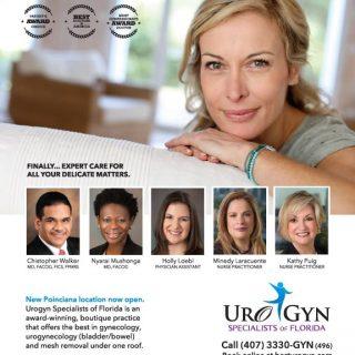 UroGyn Specialists - Magazine ad