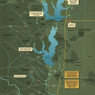 Trinity River Ecosystem map