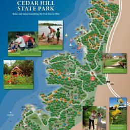 Map - Cedar Hills State Park