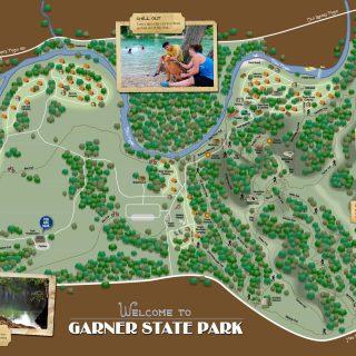 Map - Garner State Park