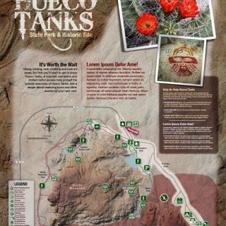 Map - Hueco Tanks State Park