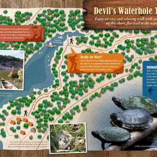 Map - Inks Lake State Park
