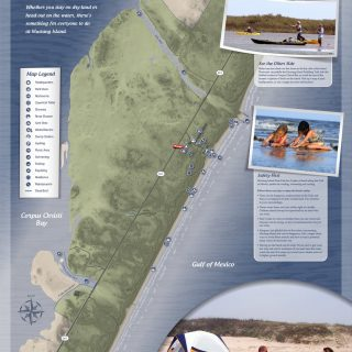 Map - Mustang Island State Park