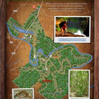 Map - Palmetto State Park