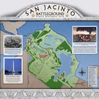Map - San Jacinto State Park