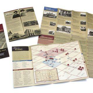 Plano Historical Tour map