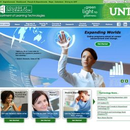 Website - University of North Texas College of Information
