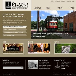 Website - Plano Conservancy